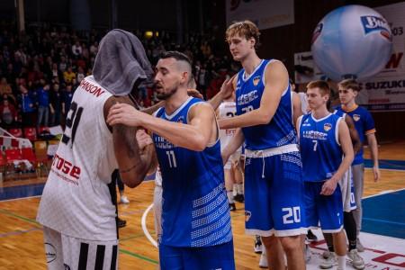 Foto: Final Four Budiš Slovenský pohár 2019/2020 - finále: BC Prievidza - BKM Lučenec 75:63 126