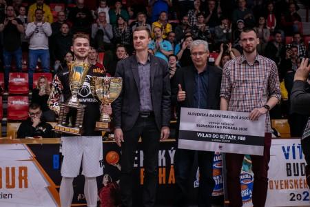 Foto: Final Four Budiš Slovenský pohár 2019/2020 - finále: BC Prievidza - BKM Lučenec 75:63 132
