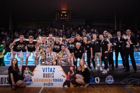 Foto: Final Four Budiš Slovenský pohár 2019/2020 - finále: BC Prievidza - BKM Lučenec 75:63 141