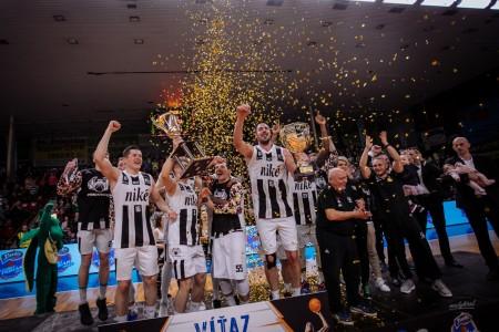 Foto: Final Four Budiš Slovenský pohár 2019/2020 - finále: BC Prievidza - BKM Lučenec 75:63 143