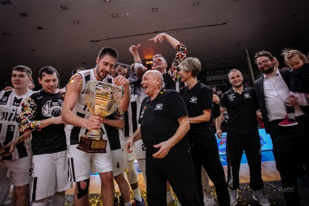 Foto: Final Four Budiš Slovenský pohár 2019/2020 - finále: BC Prievidza - BKM Lučenec 75:63 145