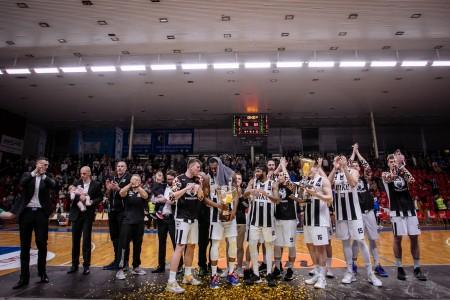 Foto: Final Four Budiš Slovenský pohár 2019/2020 - finále: BC Prievidza - BKM Lučenec 75:63 148