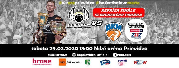 BC Prievidza - BKM Lučenec (29. kolo SBL)