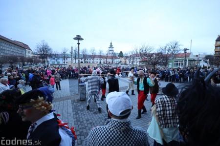 Foto: Fašiangy na námesti v Prievidzi a fašiangový sprievod 2020 12