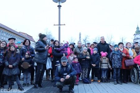 Foto: Fašiangy na námesti v Prievidzi a fašiangový sprievod 2020 16