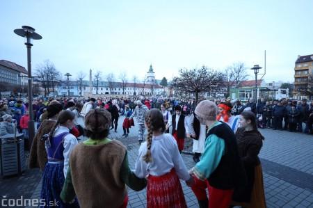 Foto: Fašiangy na námesti v Prievidzi a fašiangový sprievod 2020 22