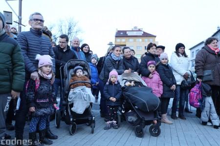 Foto: Fašiangy na námesti v Prievidzi a fašiangový sprievod 2020 34