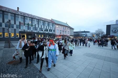 Foto: Fašiangy na námesti v Prievidzi a fašiangový sprievod 2020 53