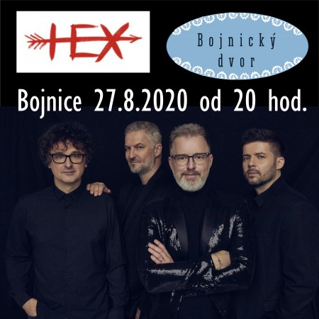 Koncerty Bojnický dvor - Bojnice leto 2020 3