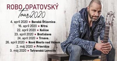 ROBO OPATOVSKÝ Tour 2020 - Prievidza