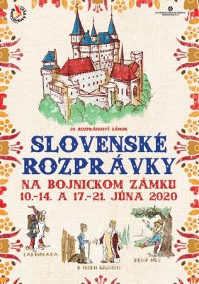 Zrušené - Slovenské rozprávky - Rozprávkový zámok 2020 na Bojnickom zámku