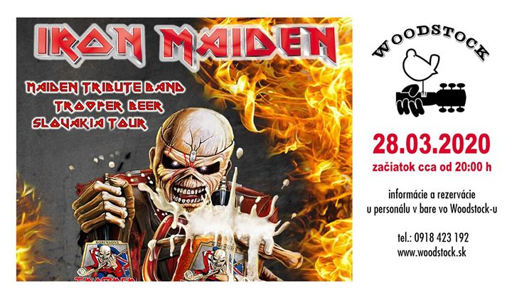 Zrušené - Iron Maiden - Woodstock Prievidza
