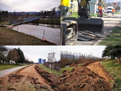 Video: V Prievidzi sa začala výstavba cyklotrasy podľa plánu