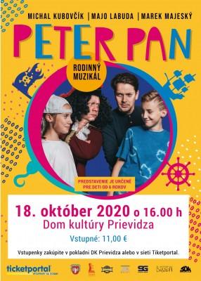 Peter Pan - NÁHRADNÝ TERMÍN!