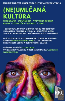 (Ne)umlčaná kultúra - Multižánrová umelecká súťaž a prezentácia