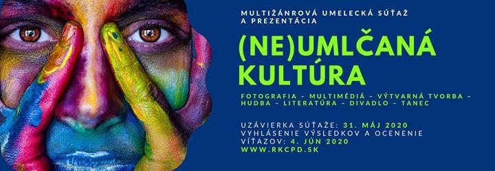 NE-Umlčaná kultúra - Multižánrová umelecká súťaž a prezentácia
