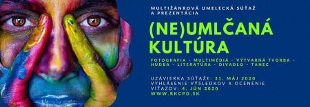 (Ne)umlčaná kultúra - Multižánrová umelecká súťaž a prezentácia 0