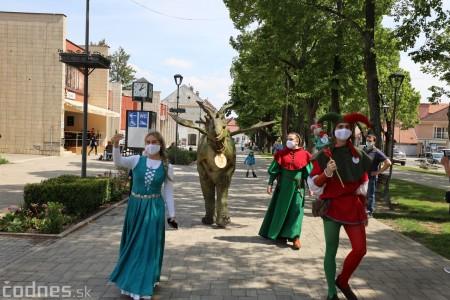 Foto a video: Prechádzka draka v Bojniciach alebo Dračie korzovanie 2