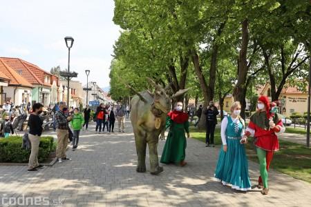 Foto a video: Prechádzka draka v Bojniciach alebo Dračie korzovanie 15