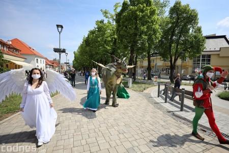 Foto a video: Prechádzka draka v Bojniciach alebo Dračie korzovanie 17
