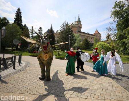 Foto a video: Prechádzka draka v Bojniciach alebo Dračie korzovanie 19
