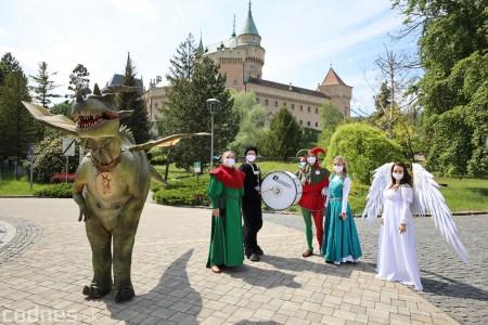 Foto a video: Prechádzka draka v Bojniciach alebo Dračie korzovanie 20