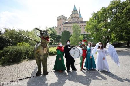 Foto a video: Prechádzka draka v Bojniciach alebo Dračie korzovanie 26