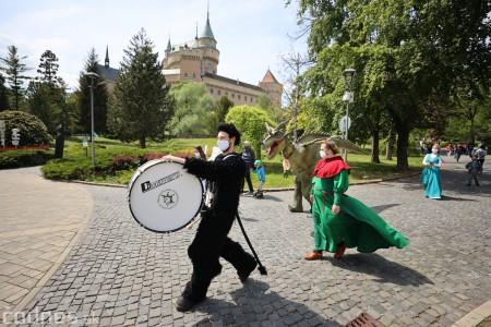 Foto a video: Prechádzka draka v Bojniciach alebo Dračie korzovanie 29