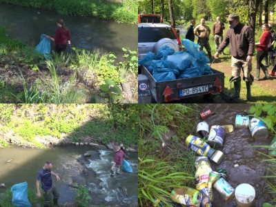 Video: Spojili sa pre dobrú vec - vyčistili vodné toky vo svojom okolí