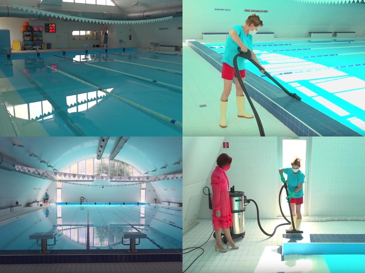 Video:  Mestská plaváreň v Prievidzi je na spustenie plaveckých tréningov pripravená