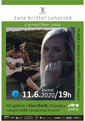 Koncert Jana K.L. a jej hosť Peter Juhás