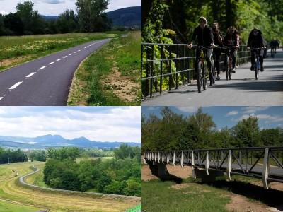 Video: V Trenčianskom kraji otvorili nový 11-kilometrový úsek cyklotrasy medzi mestami Trenčín a Nemšová, v rámci cezhraničného projektu Na bicykli po stopách histórie.