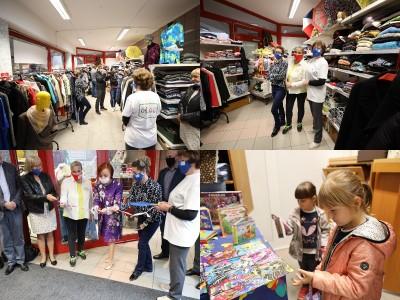 Foto a video: V Prievidzi dnes otvorili jedinečný obchod na výmenu vecí BerTO! V obchode sa ale neplatí