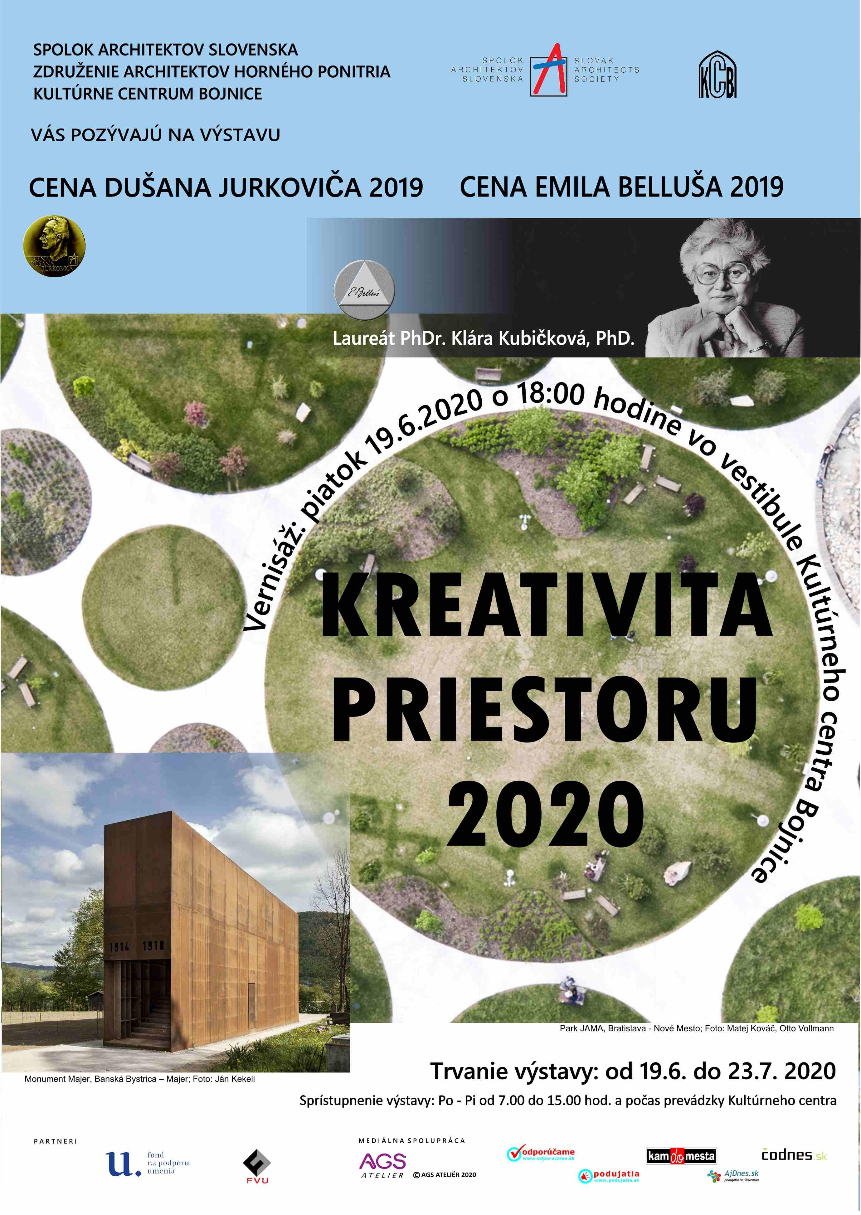Kreativita priestoru 2020