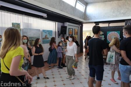Foto: Vernisáž - Každý spolu - výstava štyroch pedagógov. VERONIKA LACHKÁ, ALENA SLUKOVÁ, LUCIA VRTELOVÁ a OLEG CIPOV 0
