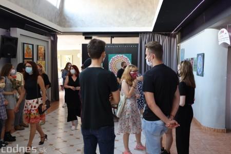 Foto: Vernisáž - Každý spolu - výstava štyroch pedagógov. VERONIKA LACHKÁ, ALENA SLUKOVÁ, LUCIA VRTELOVÁ a OLEG CIPOV 1