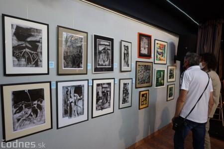 Foto: Vernisáž - Každý spolu - výstava štyroch pedagógov. VERONIKA LACHKÁ, ALENA SLUKOVÁ, LUCIA VRTELOVÁ a OLEG CIPOV 2