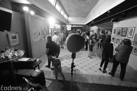 Foto: Vernisáž - Každý spolu - výstava štyroch pedagógov. VERONIKA LACHKÁ, ALENA SLUKOVÁ, LUCIA VRTELOVÁ a OLEG CIPOV 9