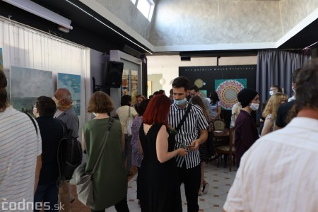 Foto: Vernisáž - Každý spolu - výstava štyroch pedagógov. VERONIKA LACHKÁ, ALENA SLUKOVÁ, LUCIA VRTELOVÁ a OLEG CIPOV 10