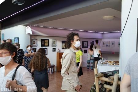 Foto: Vernisáž - Každý spolu - výstava štyroch pedagógov. VERONIKA LACHKÁ, ALENA SLUKOVÁ, LUCIA VRTELOVÁ a OLEG CIPOV 11