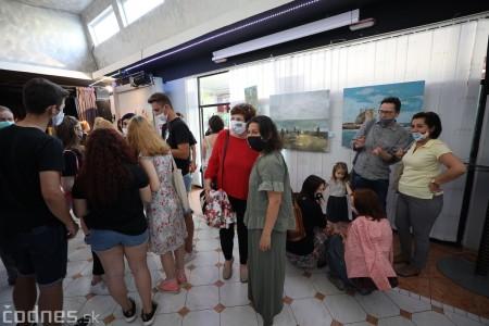 Foto: Vernisáž - Každý spolu - výstava štyroch pedagógov. VERONIKA LACHKÁ, ALENA SLUKOVÁ, LUCIA VRTELOVÁ a OLEG CIPOV 36