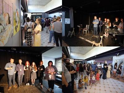 Foto: Vernisáž - Každý spolu - výstava štyroch pedagógov. VERONIKA LACHKÁ, ALENA SLUKOVÁ, LUCIA VRTELOVÁ a OLEG CIPOV