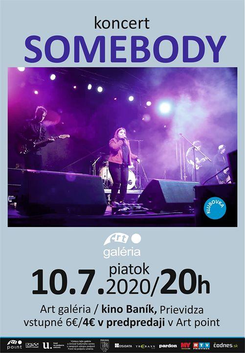 Somebody - koncert
