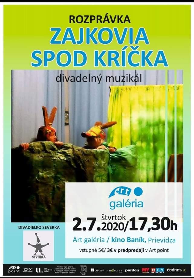 Zajkovia spod kríčka - Divadielko Severka