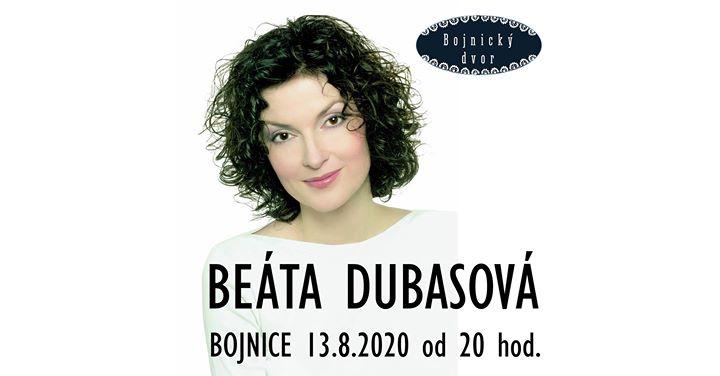 Beáta Dubasová - Bojnice - 13.8.2020