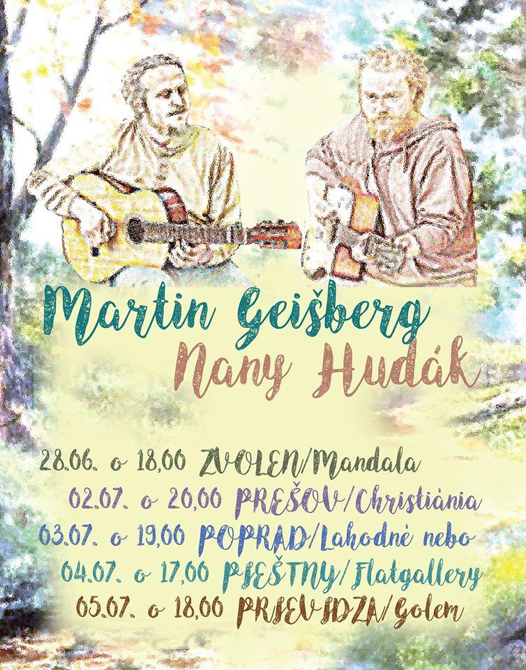Koncert Martin Geišberg a Nany Hudák