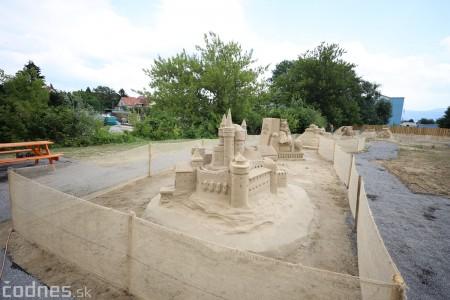 Foto a video: Obrovské pieskové sochy v Bojniciach budete môcť vidieť už od zajtra 27.6. 1