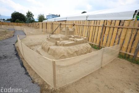 Foto a video: Obrovské pieskové sochy v Bojniciach budete môcť vidieť už od zajtra 27.6. 2