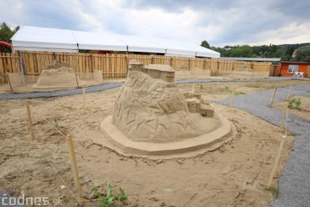 Foto a video: Obrovské pieskové sochy v Bojniciach budete môcť vidieť už od zajtra 27.6. 3