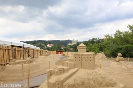 Foto a video: Obrovské pieskové sochy v Bojniciach budete môcť vidieť už od zajtra 27.6. 5